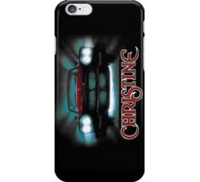 Amazing black transparency. Christine. A real killer. iPhone Case/Skin