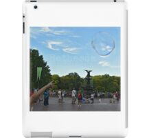 Bethesda Fountain iPad Case/Skin