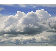 large clouds Photographic Print