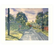 """Approach to Kilham"" Art Print"