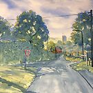 """Approach to Kilham"" by Glenn  Marshall"