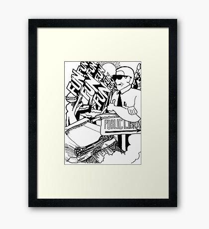 Fun, Fun, Fun, Tribute to the Beach Boys Framed Print