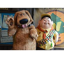 Disney Pixar UP Russell Dug Dog Wilderness Explorer Photographic Print