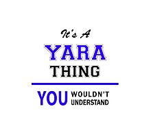 It's a YARA thing, you wouldn't understand !! by allnames