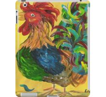 Plucky Rooster iPad Case/Skin