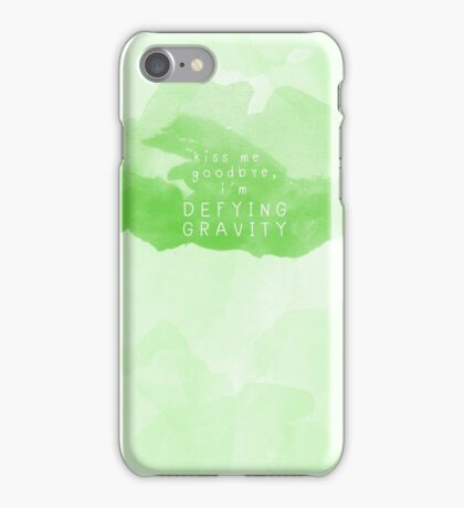 And you can't pull me down iPhone Case/Skin