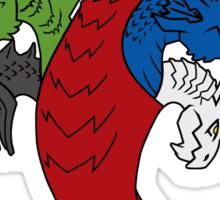 Regina Draconum (light) Sticker