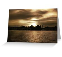 Let Night Fall Greeting Card