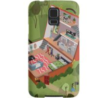 Home is Where the Heart is Samsung Galaxy Case/Skin