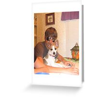 Super Troopers meets Deputy Dog Greeting Card
