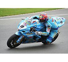 Chris Walker (Stalker)  Rizla Suzuki Superbikes. Photographic Print