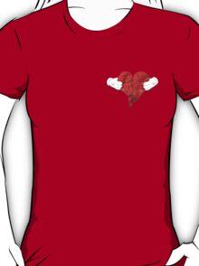 Kanye West 808's & Heartbreaks Small Badge Deluxe Heart Art T-Shirt