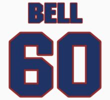 National football player Jacob Bell jersey 60 by imsport