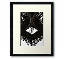 Au-dessous de la Tour Eiffel Framed Print