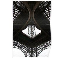 Au-dessous de la Tour Eiffel Poster