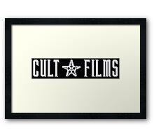Cult Films 2 Framed Print