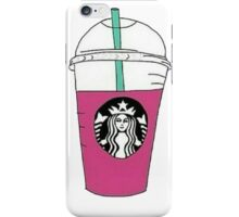 Starbucks Berry Frappucino iPhone Case/Skin