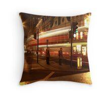 Leadenhall Cornhill Bishopsgate & Gracechurch Street Crossroads Throw Pillow