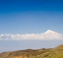 Mount Ararat in Turkey, seen from Armenia by PhotoStock-Isra