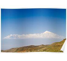 Mount Ararat in Turkey, seen from Armenia Poster