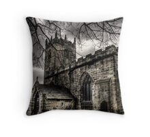 The Church Throw Pillow