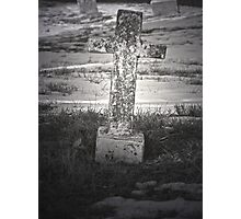 Stone Cross Photographic Print