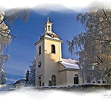 Winter Church (signature series) by Torfinn Johannessen