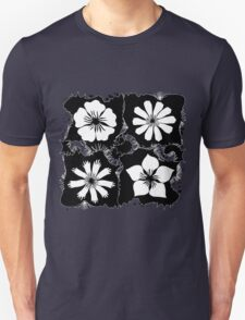 ink flowers Unisex T-Shirt