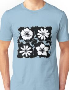 ink flowers Unisex T-Shirt