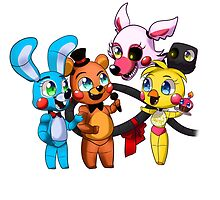 Five nights at freddy's (Chibi) by Cattymadi
