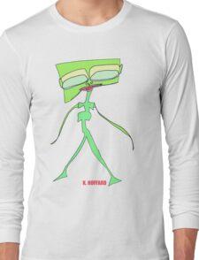 Alien Fashion Model Long Sleeve T-Shirt