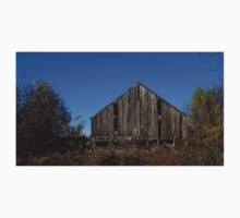 0127 - HDR Panorama - Old Barn 2 One Piece - Short Sleeve