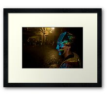 Carnival Dancer in Montevideo, Uruguay Framed Print