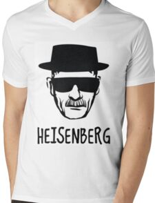 Heisenberg Mens V-Neck T-Shirt