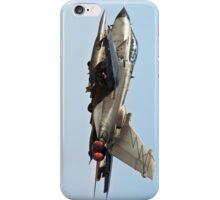 Italian Air force Eurofighter Typhoon in flight  iPhone Case/Skin