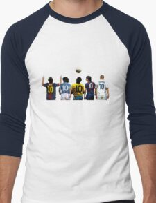 Top Number Tens Men's Baseball ¾ T-Shirt