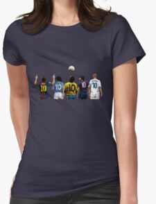 Top Number Tens Womens Fitted T-Shirt
