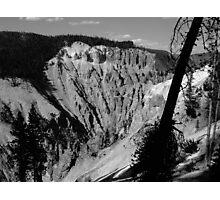 Grand Canyon of Yellowstone Photographic Print