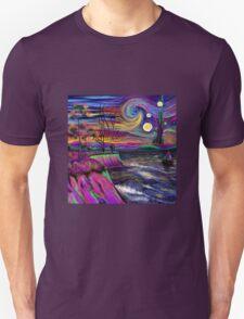 Psychedelic landscape T-Shirt