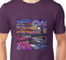Psychedelic landscape Unisex T-Shirt