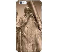 Statue from the Harry Potter movies iPhone Case/Skin