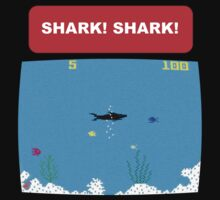 SHARK! SHARK! Tee by BluAlien