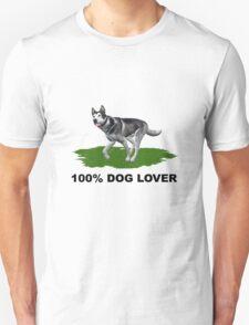 100 % Dog Lover T-Shirt