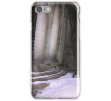 Snow at harry potters iPhone Case/Skin