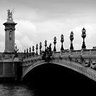 Parisian Bridge by Caroline Fournier