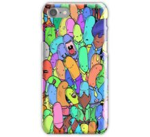 Crazy people iPhone Case/Skin
