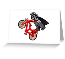 Jedi Bike tricks - colour Greeting Card