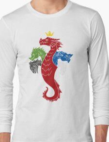 Regina Draconum (dark) Long Sleeve T-Shirt