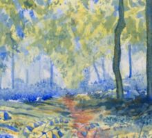 """""""Bluebells in Sewerby Park Sticker"""