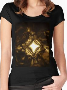 Crystalight Women's Fitted Scoop T-Shirt